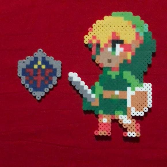 The Legend Of Zelda Perler Bead Set